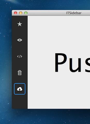 ITSidebar screenshot