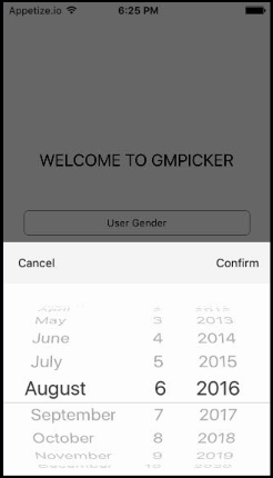 GMPicker screenshot