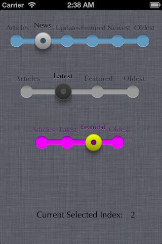 iOS Filter Control screenshot