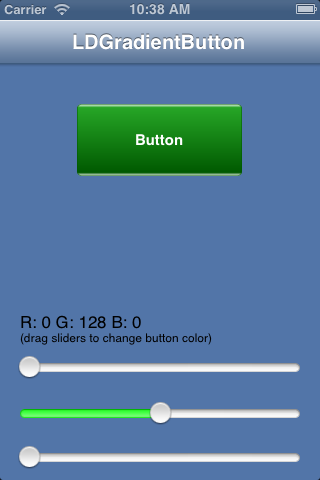 LDGradientButton screenshot