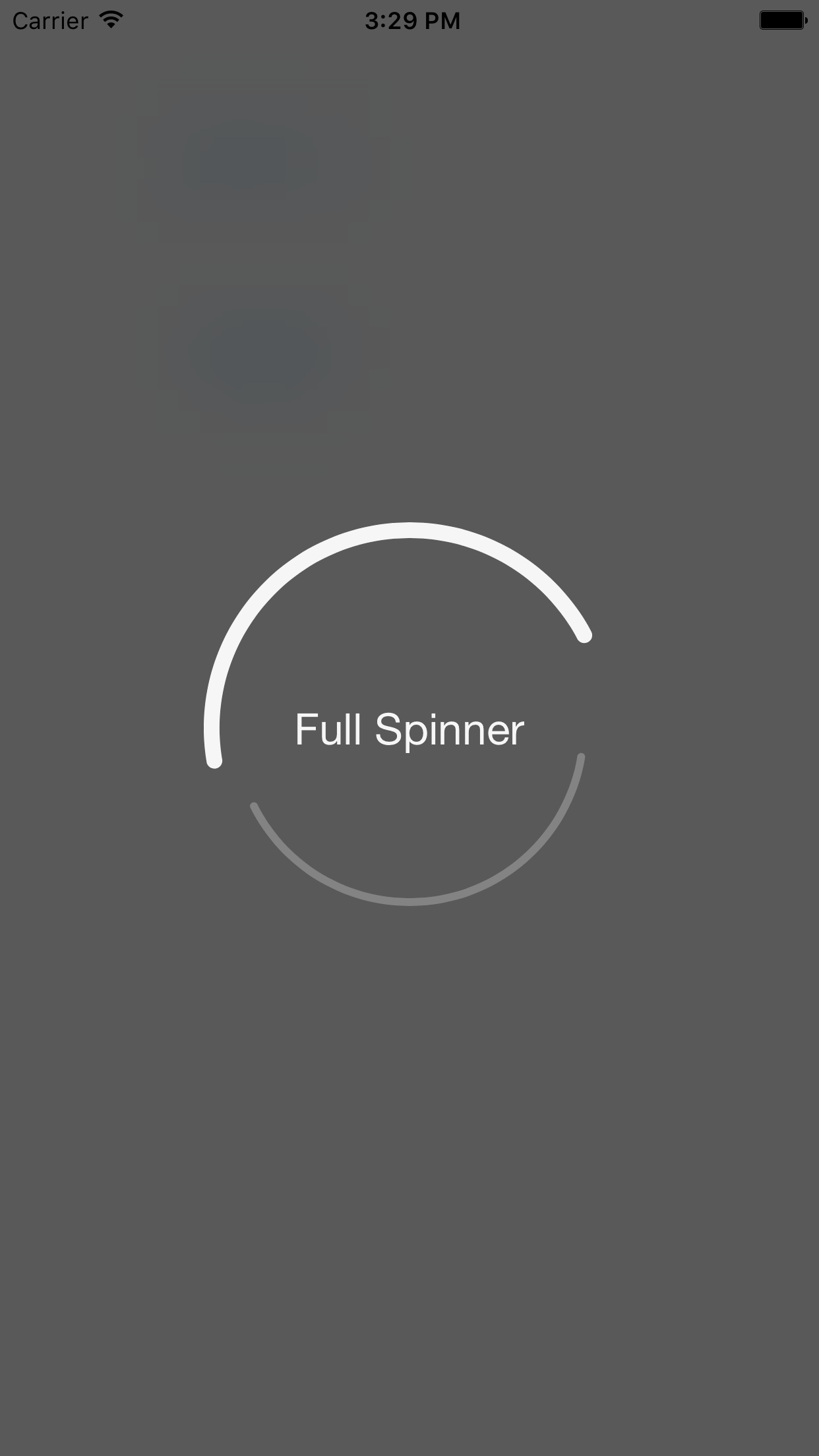 MKSpinner screenshot
